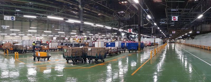 Nissan, a través de su red logística, impulsa la competitividad de sus plantas a nivel mundial