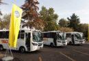 """Volkswagen Camiones y Autobuses entrega 30 Autobuses 8.160 OD Minibus en el """"Encuentro de Negocios"""" del Edo. de México."""