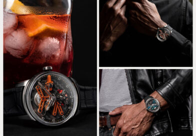 8 unique Angelus tourbillon timepieces inspired by cocktails