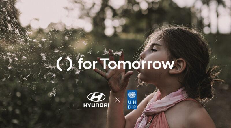 Hyundai Motor y PNUD lanzan el proyecto global 'for     Tomorrow' para dar base a innovaciones sostenibles.