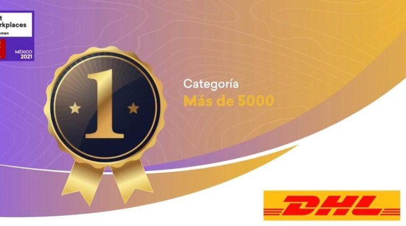 DHL Express es reconocido como el Mejor lugar paraTrabajar en México para Mujeres 2021