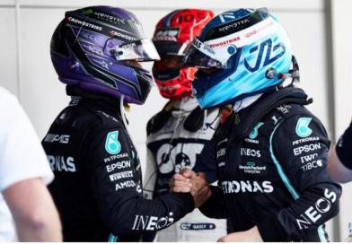 Gran Premio de España 2021: Hamilton y Bottas en podio. 100 pole positions y 98 victorias para br Hamilton.