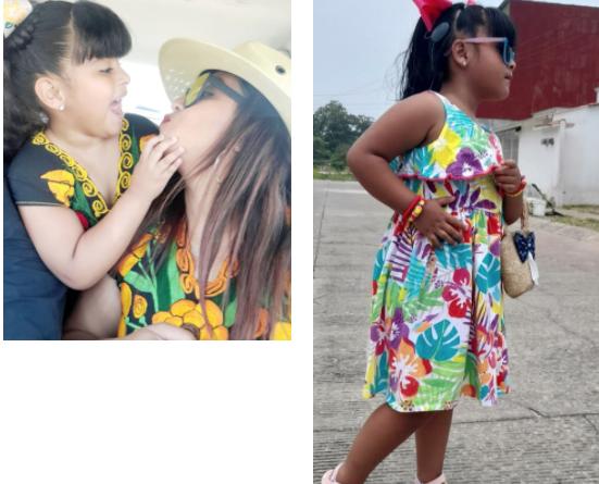 Jessica y Fernanda, madre e hija en una historia con más de 100 decibeles de amor