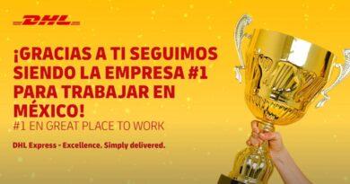 Refrenda DHL Express México primer lugar para trabajar en Tiempos de Reto 2021