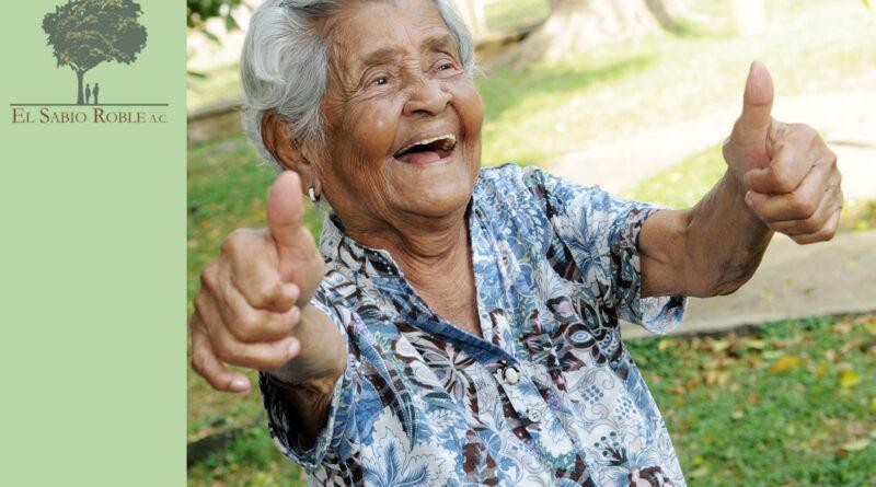 El noble reto a beneficio de los adultos mayores.
